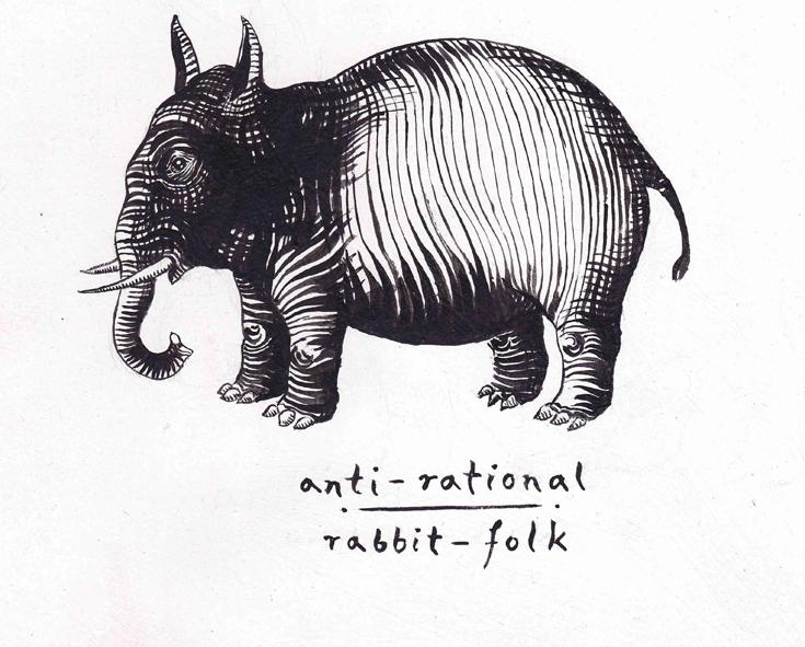 anti-rational rabbit folk klein